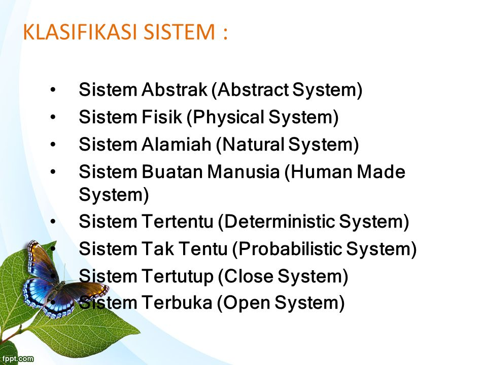 Komponen Fisik Sistem Informasi: Perangkat keras komputer Perangkat lunak komputer Basis data Prosedur Personil
