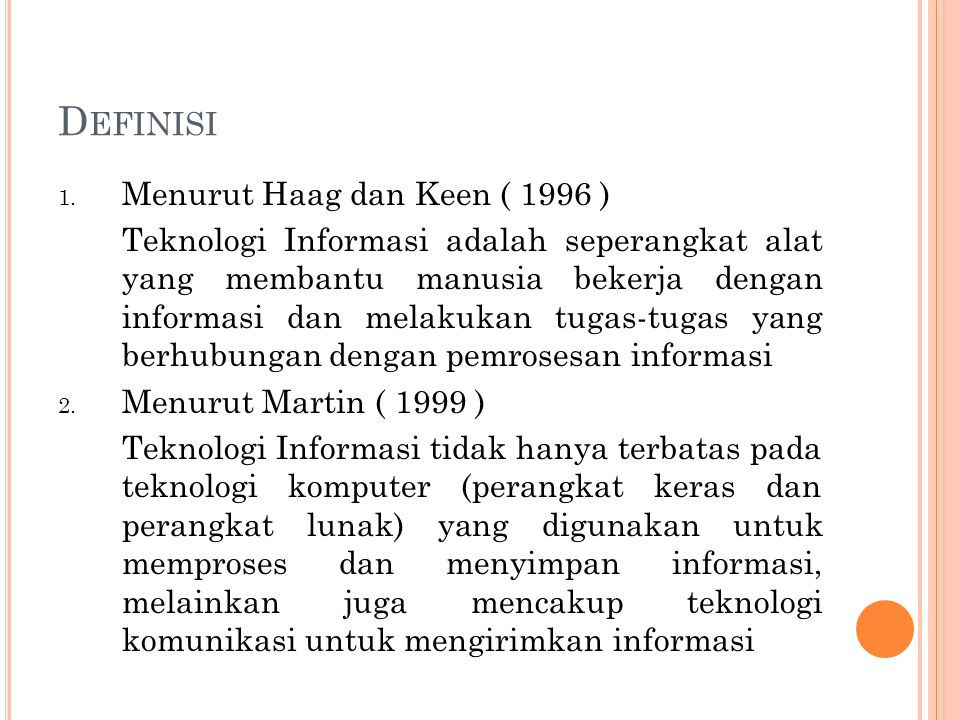 D EFINISI (2) 3.