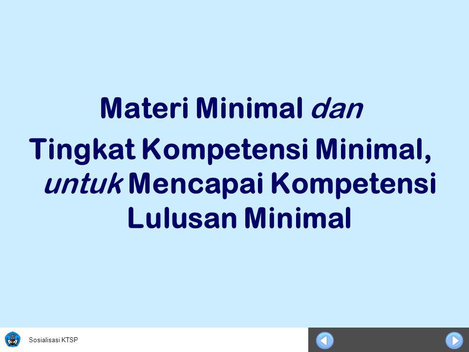 Sosialisasi KTSP Progam Bahasa Komponen/Kelas/SemesterXI-1XI-2XII-1XII-2 A.