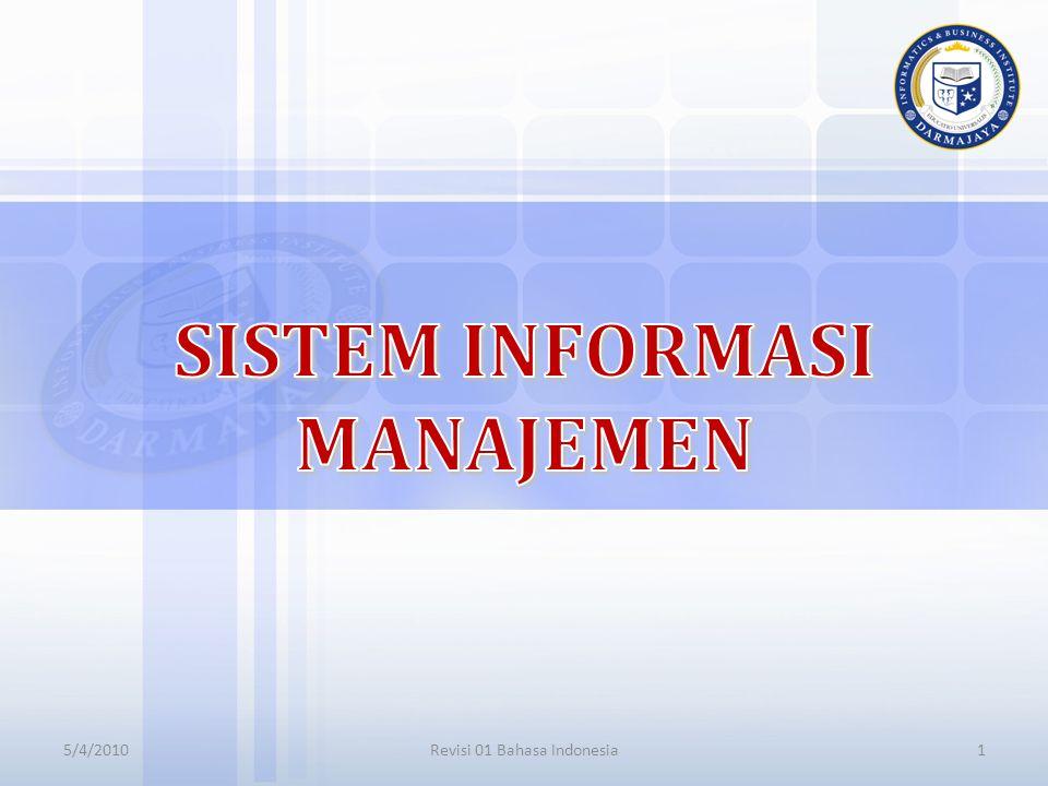 PRINSIP SISTEM INFORMASI DALAM BISNIS Mengapa anda belajar Sistem Informasi.