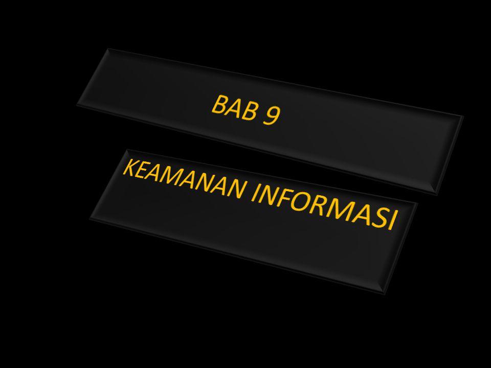 Tujuan keamanan informasi keamanan informasi ditujukan untuk mencapai tiga tujuan utama, yaitu : 1.