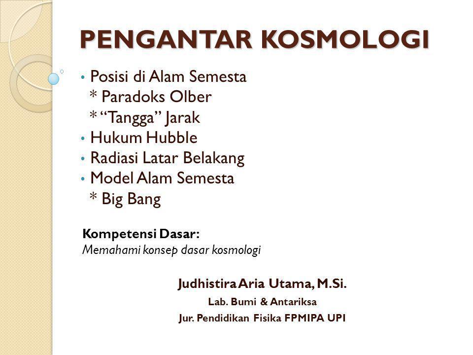 2 Posisi di Alam Semesta Judhistira Aria Utama | TA 2011 - 2012