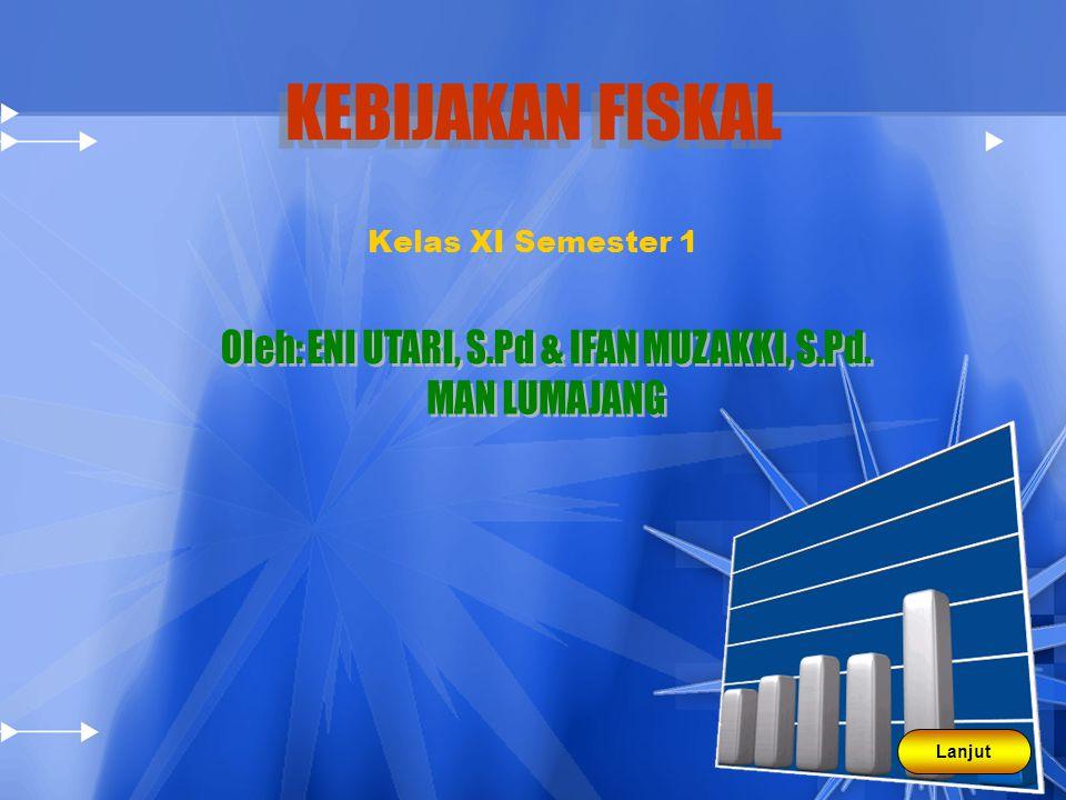MACAM-MACAM KEBIJAKAN FISKAL 1.Kebijakan fiskal stabilisator otomatis a.