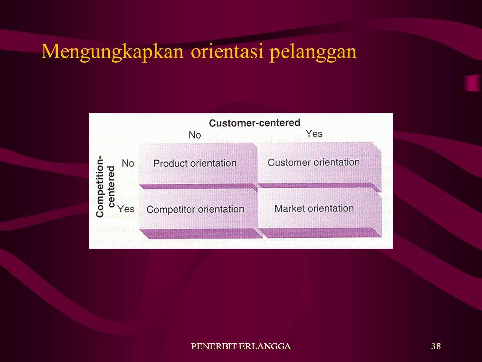 PENERBIT ERLANGGA38 Mengungkapkan orientasi pelanggan