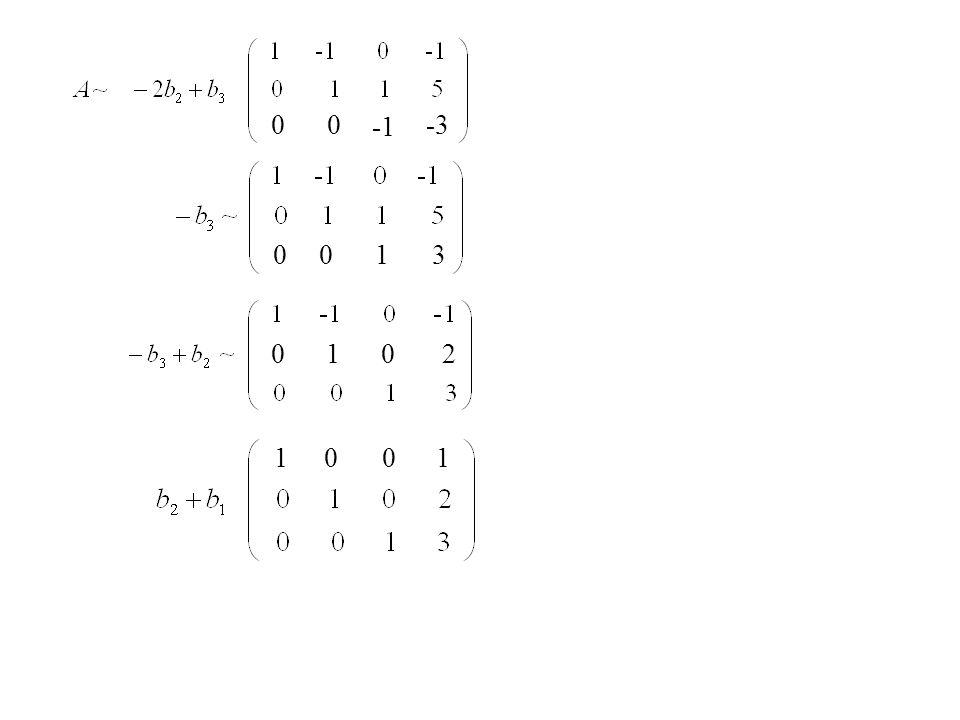 » A = [ 1 -1 0;0 2 1; 2 -1 1] A = 1 -1 0 0 2 1 2 -1 1