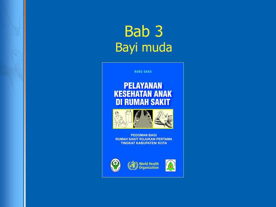 Berikan oksigen Bab 5: Cara pemberian oksigen: melalui kateter nasal atau kanul nasal Gunakan kanul no.