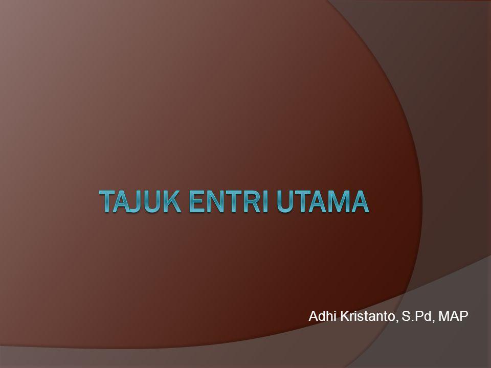 Contoh katalog dengan macam-macam tajuk utama (main entry) 7 Karya Badan Korporasi 553.28 CAL CALTEX PACIFIC INDONESIA (PT) Annual report 1997/1998.— Jakarta: PT CPI, 1998.