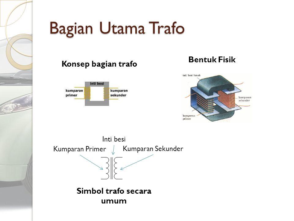TOPIK Pengertian Bagian Utama Prinsip Kerja Analisis Parametrik Jenis Trafo