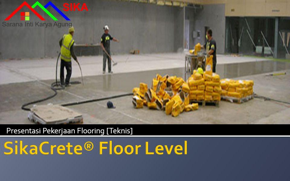 Presentasi Pekerjaan Flooring [Teknis]