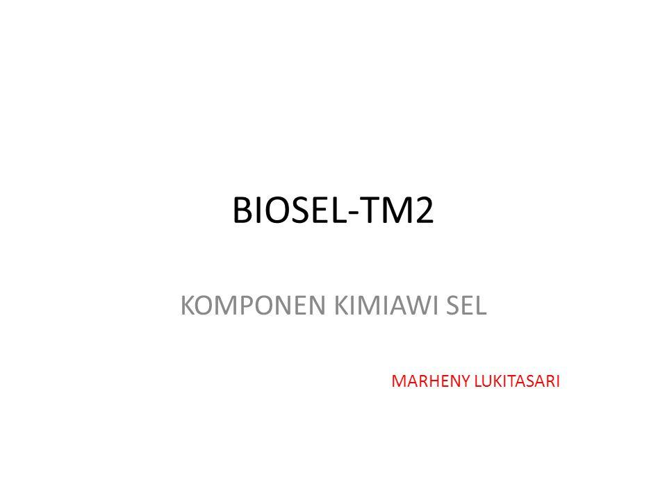 BIOSEL-TM2 KOMPONEN KIMIAWI SEL MARHENY LUKITASARI