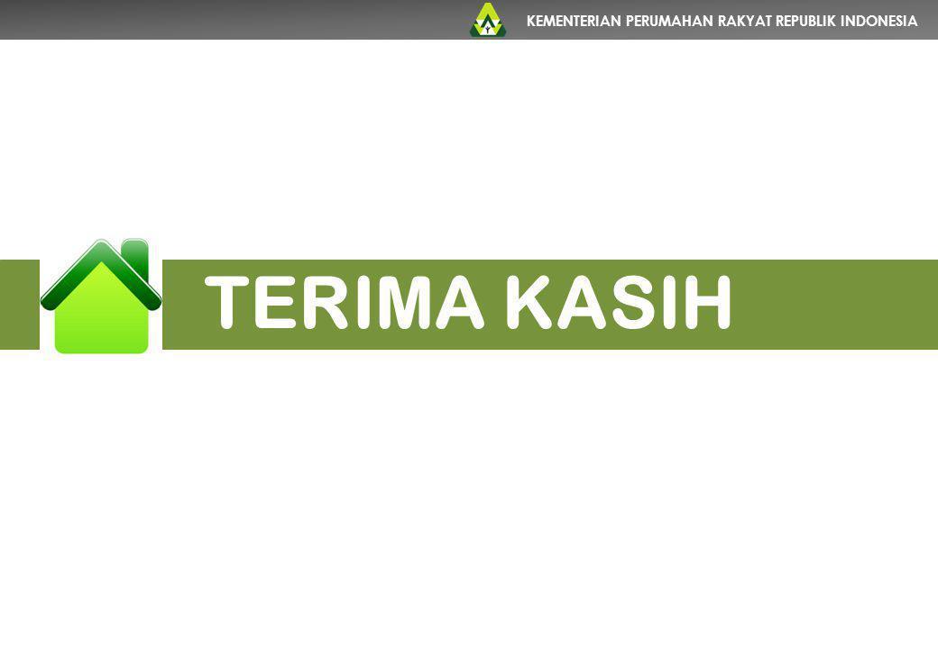 KEMENTERIAN PERUMAHAN RAKYAT REPUBLIK INDONESIA TERIMA KASIH