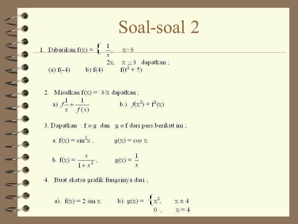 Soal-soal 2