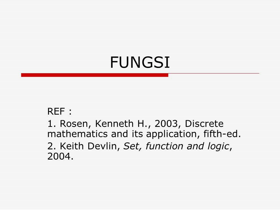 CONTOH: Diberikan fungsi f dari {a, b, c, d} ke {1, 2, 3, 4, 5} dengan f(a)=4, f(b)=5, f(c)=1 dan f(d) = 3 merupakan fungsi injektif ?CONTOH: Diberikan fungsi f dari {a, b, c, d} ke {1, 2, 3, 4, 5} dengan f(a)=4, f(b)=5, f(c)=1 dan f(d) = 3 merupakan fungsi injektif .