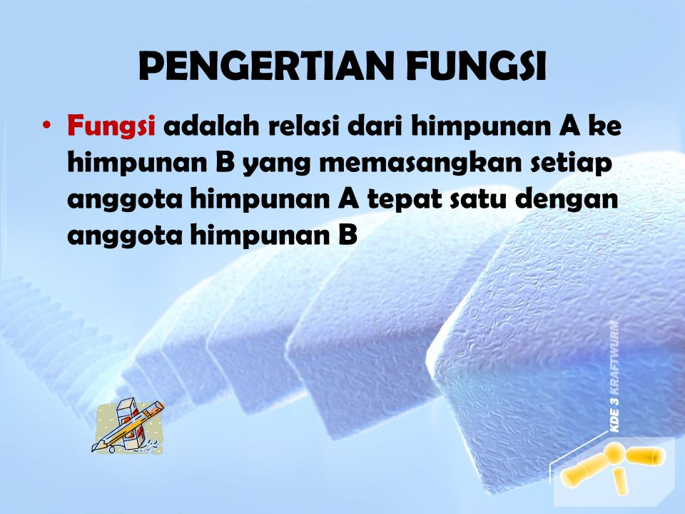 FUNGSI OLEH KHOIRUNNISA A 410060061