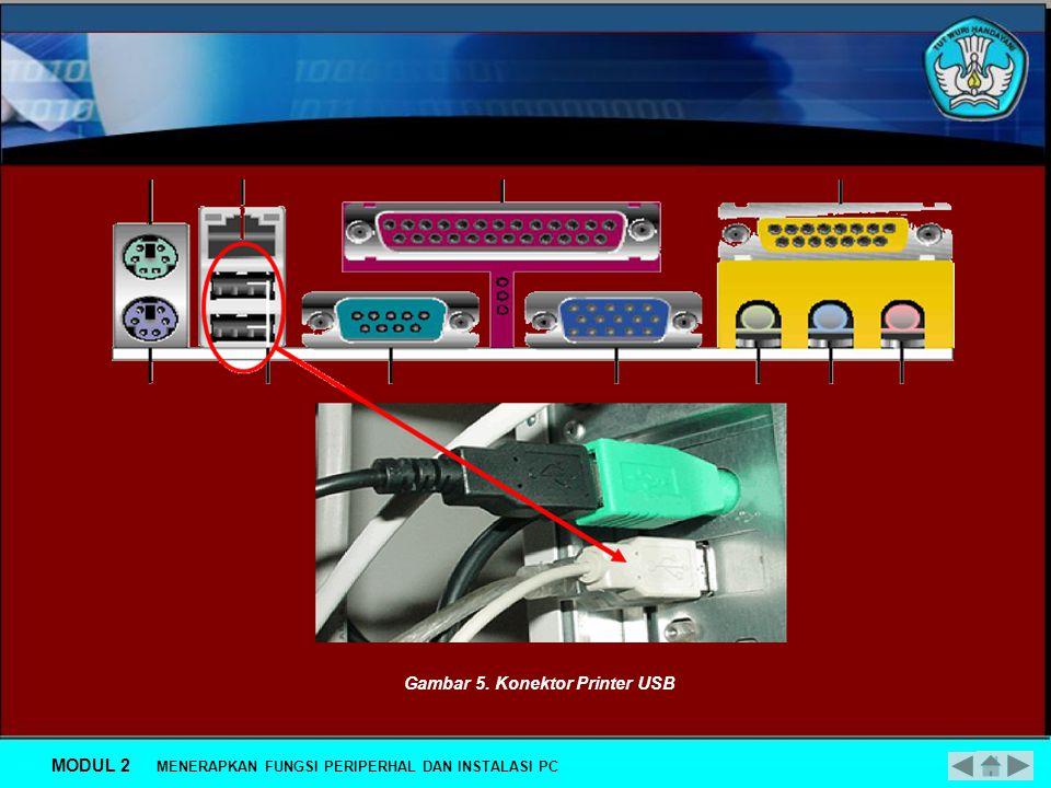Berikut Ini cara-cara instalasi beberapa peripheral secara fisik maupun setup dengan software.