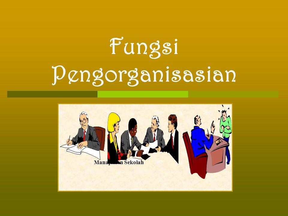 Fungsi Pengorganisasian Manajemen Sekolah