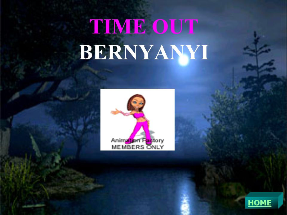 TIME OUT BERNYANYI