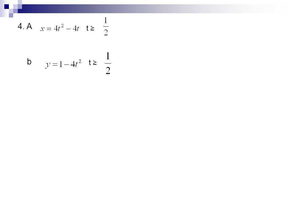 4. A b t ≥