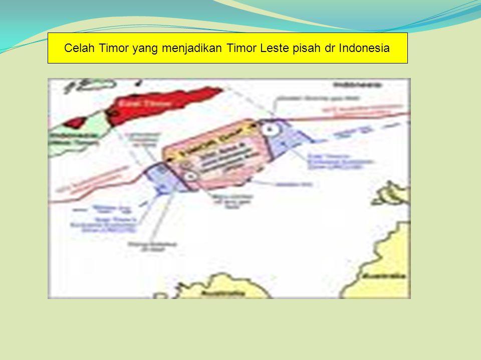 Celah Timor yang menjadikan Timor Leste pisah dr Indonesia