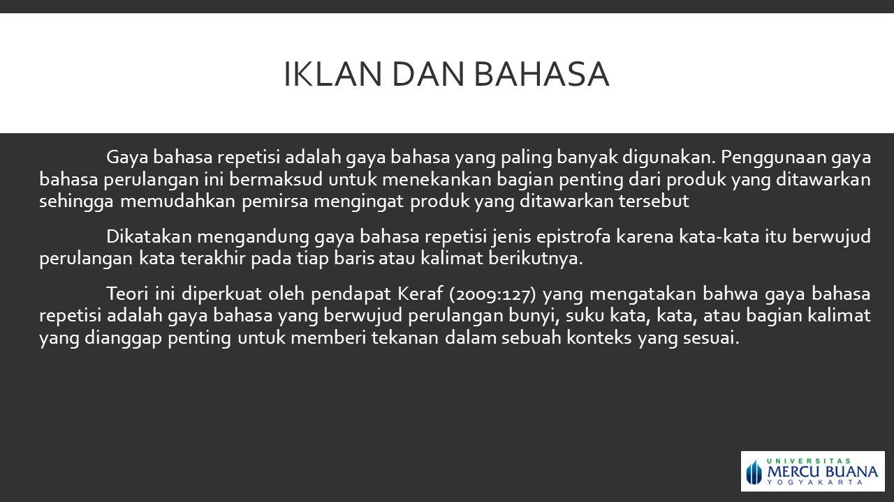 PERLENGKAPAN COPY IKLAN (COPY DEVICES) 4.