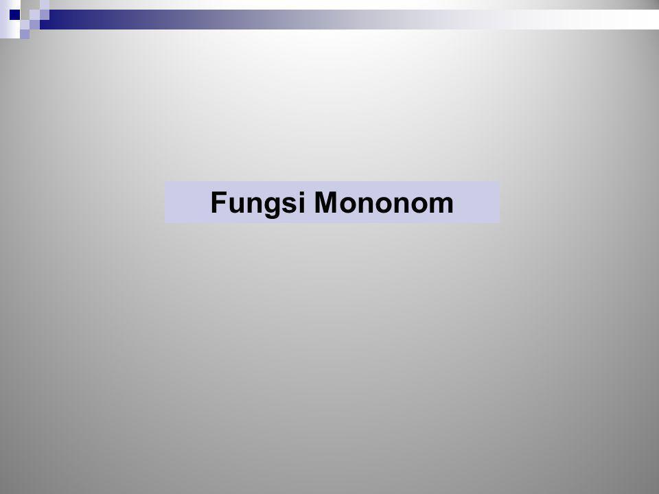 Turunan Fungsi, Fungsi Implisit Fungsi implisit ini juga merupakan sebuah persamaan.