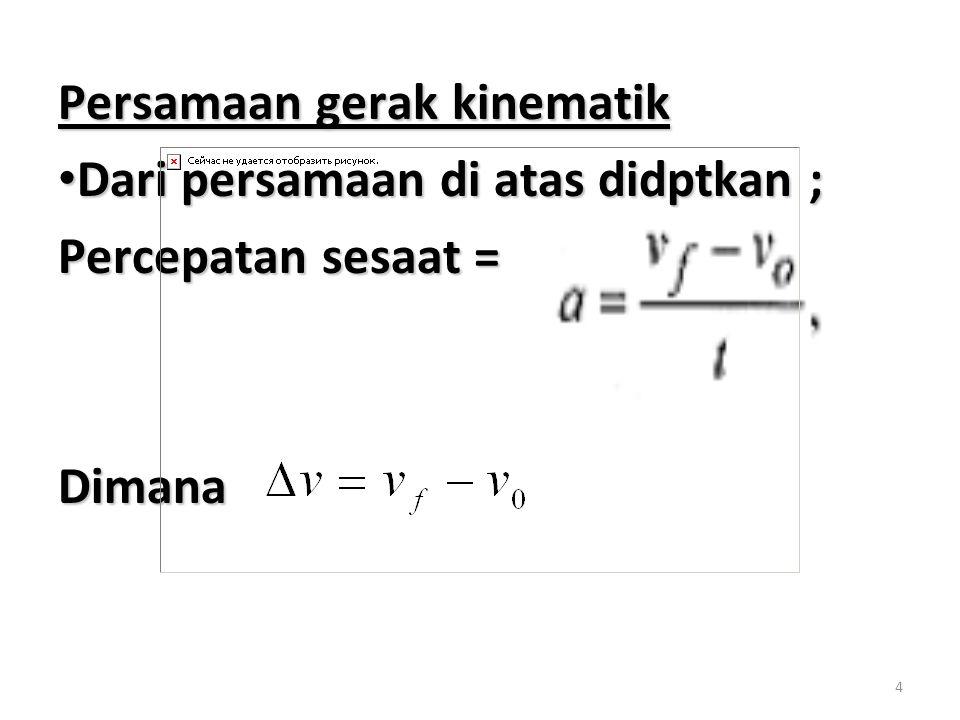 5 Persamaan di atas dpt disusun kembali menjadi : Persamaan di atas dpt disusun kembali menjadi : Notasi f dihilangkan mjd : Notasi f dihilangkan mjd :