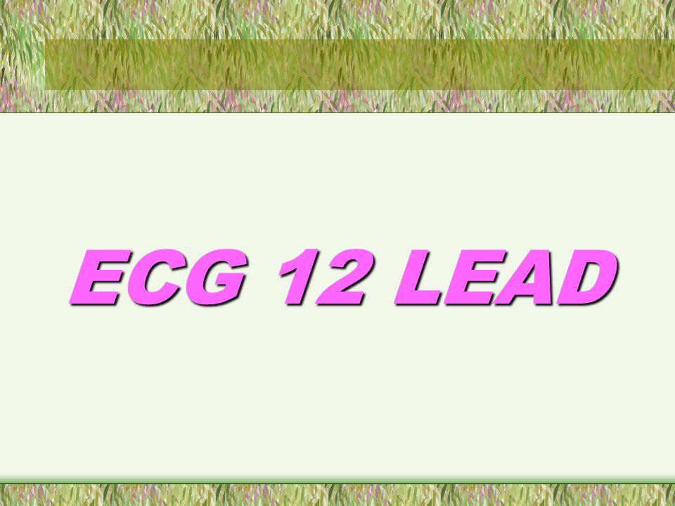 TUJUAN Anda akan belajar : Mendeskripsikan bagaimana ECG membantu dalam mendiagnosa kondisi yang patologis Bagaimana merekam ECG 12 lead Bagaimana mengatasi permasalahan dan merawat mesin ECG