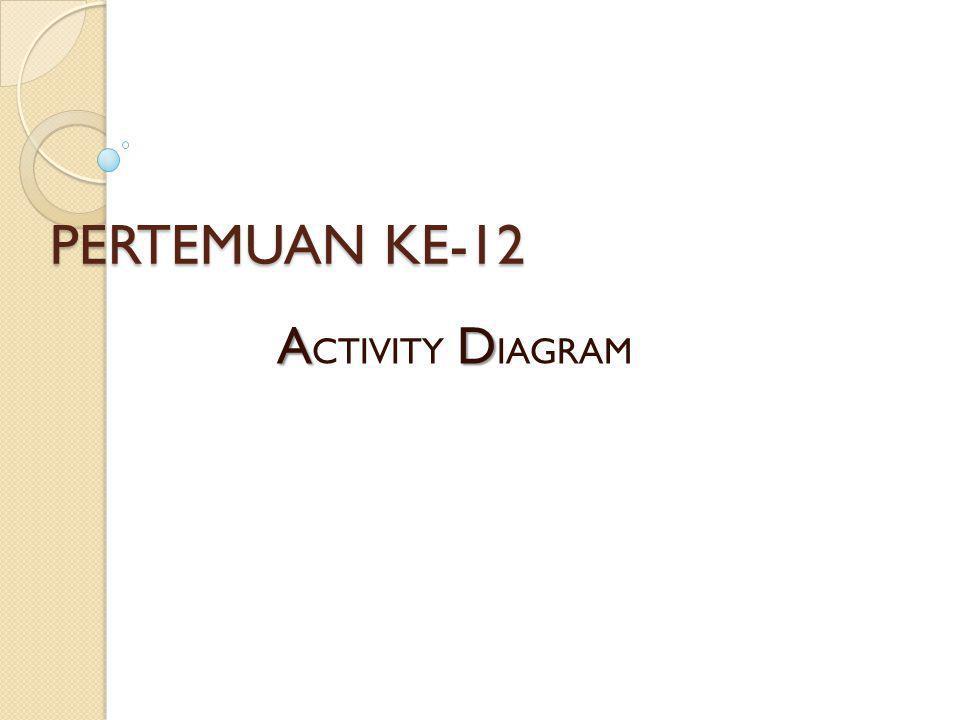 PERTEMUAN KE-12 AD A CTIVITY D IAGRAM