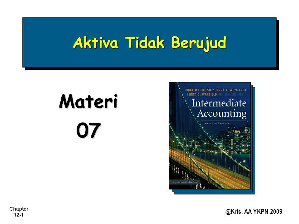 Chapter 12-1 @Kris, AA YKPN 2009 Aktiva Tidak Berujud Materi07