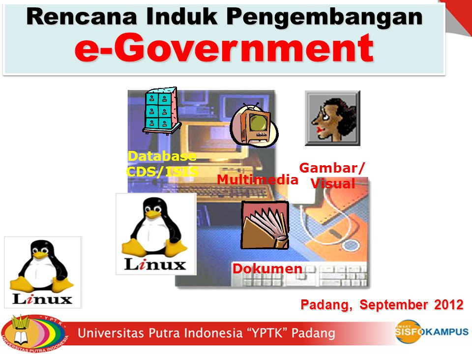  Proses Kerja Pemerintahan yang dijalankan dengan memanfaatkan Teknologi Informasi berbasiskan Internet secara terIntegrasi, sehingga menjadi lebih Efektif & Efisien  Merupakan suatu cara pemanfaatan Teknologi Informatika untuk dapat memberikan Informasi dan Layanan yang optimal terhadap Publik.
