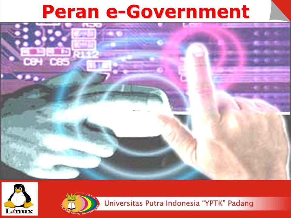 Peran e-Government