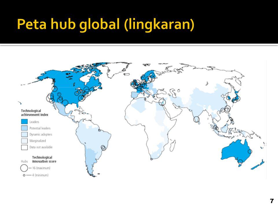 200820092010 Pada tahun 2009 dan 2010, Indonesia meningkat dari factor driven stage menjadi transition to efficiency driven stage.