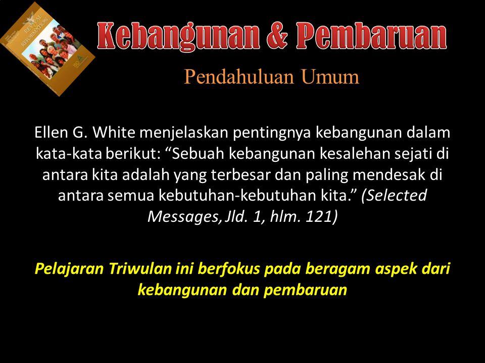 b Understand the purposes of marriage Pembaruan: Memulihkan Hubungan-hubungan yang Rusak 1.