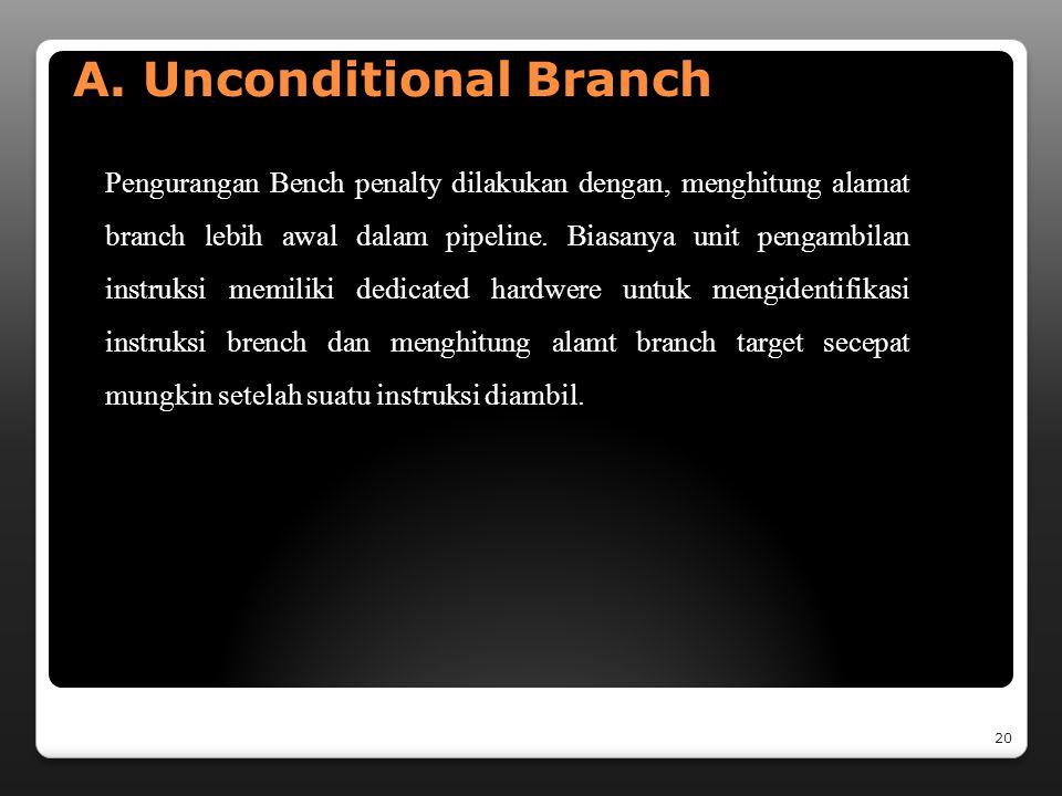 C. INSTRUCTION HAZARD Tujuan unit pengambilan instruksi fetch adalah untuk menyediakan arus instruksi tetap bagi unit eksekusi.kapanpun arus ini diint
