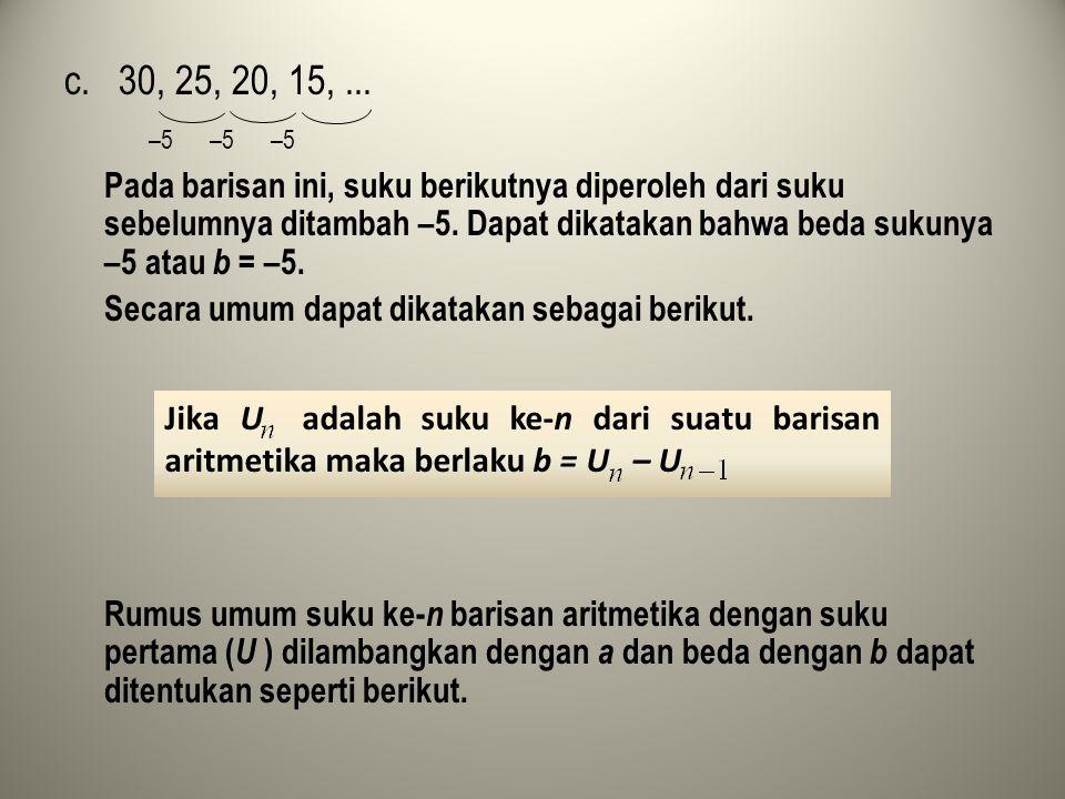 U = a U = U + b = a + b U = U + b = (a + b) + b = a + 2b U = U + b = (a + 2b) + b = a + 3b U = U + b = (a + 3b) + b = a + 4b.