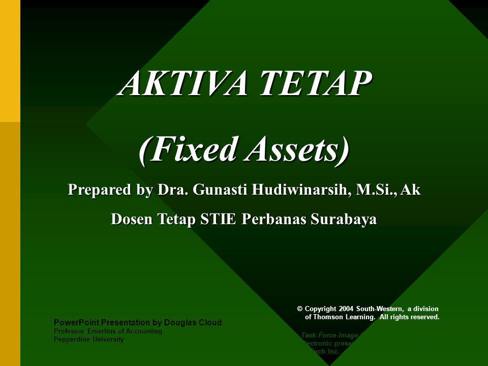AKTIVA TETAP (Fixed Assets) Prepared by Dra.