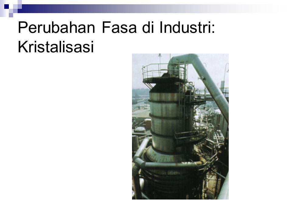 Perubahan Fasa di Industri: Kristalisasi