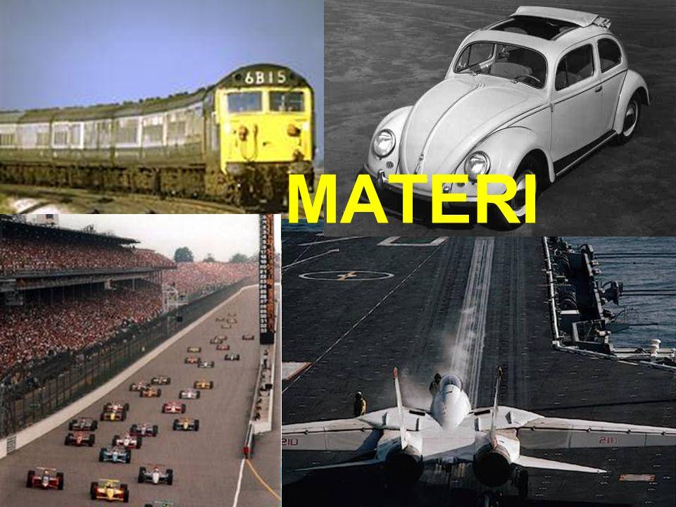 Materi adalah sesuatu yang menempati ruang dan mempunyai massa.
