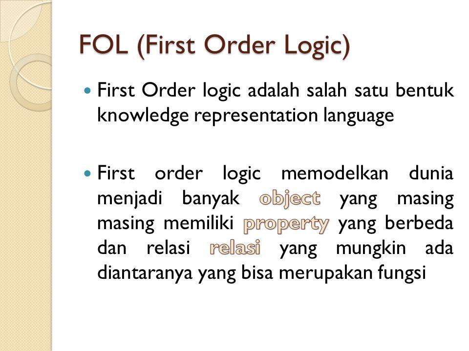 FOL (First Order Logic)