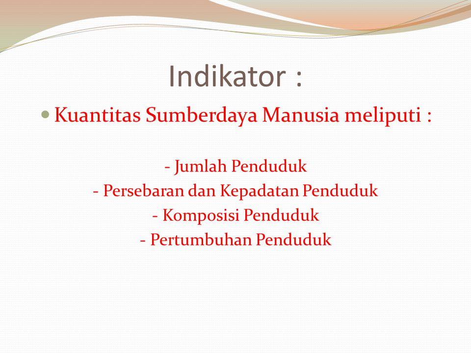 2.Persebaran dan Kepadatan Penduduk Persebaran Penduduk di Indonesia, TIDAK MERATA : P.