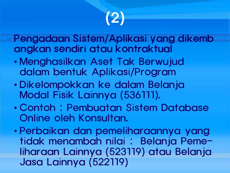 (13) Belanja Transpor lokal/Uang Harian: Dibebankan pada akun Belanja Operasional lainnya (521119): atau Dibebankan pada akun Belanja Non Operasional lainnya (521219):