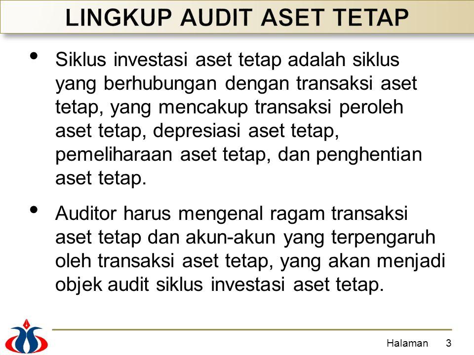Siklus investasi aset tetap adalah siklus yang berhubungan dengan transaksi aset tetap, yang mencakup transaksi peroleh aset tetap, depresiasi aset te