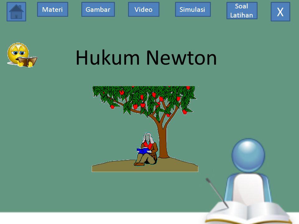 GambarMateriVideoSimulasi Soal Latihan Hukum Newton X