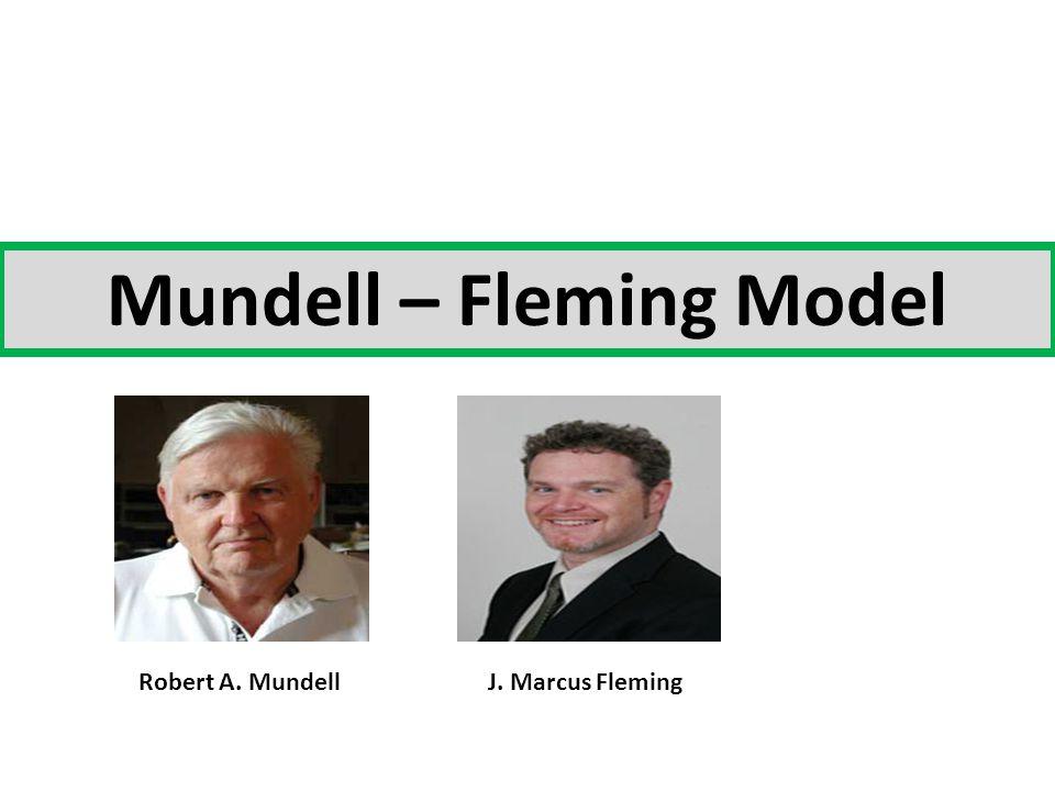  Model Mundell-Fleming dikembangkan pd awal tahun 1960 an.