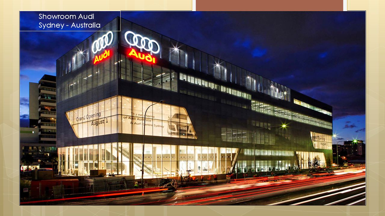 Projects|Proyek Showroom Audi Sydney - Australia