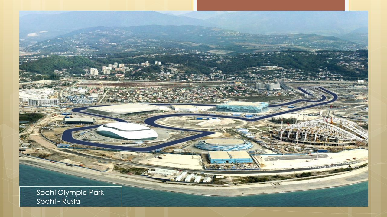 Projects|Proyek Sochi Olympic Park Sochi - Rusia