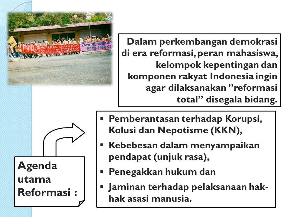 2.Pemilihan Umum Sebagai Sarana Demokrasi Pemilihan umum adalah proses pemilihan orang-orang untuk mengisi jabatan-jabatan politik tertentu.
