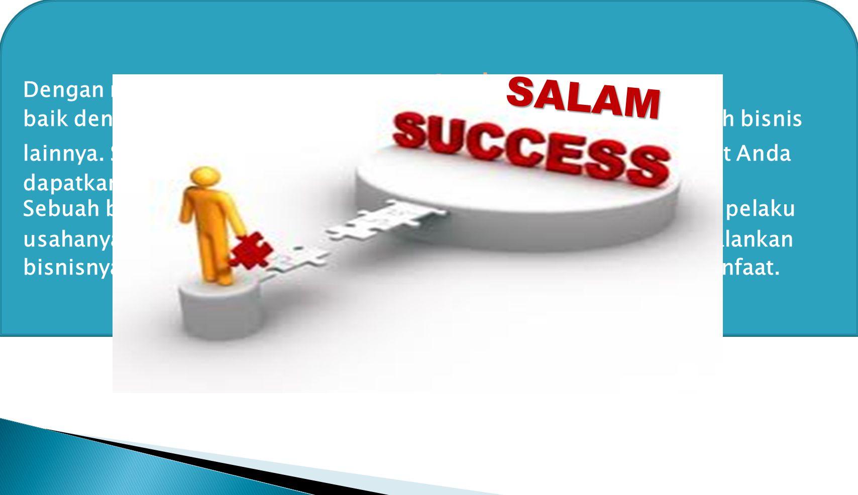 Dengan memperluas pengetahuan Anda baik dengan membaca buku bisnis, buku motivasi, maupun majalah bisnis lainnya. Sehingga pengetahuan mengenai ide –