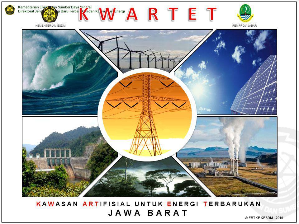 Kementerian Energi dan Sumber Daya Mineral Direktorat Jenderal Energi Baru Terbarukan dan Konservasi Energi © EBTKE KESDM - 2010 KAWASAN ARTIFISIAL UN