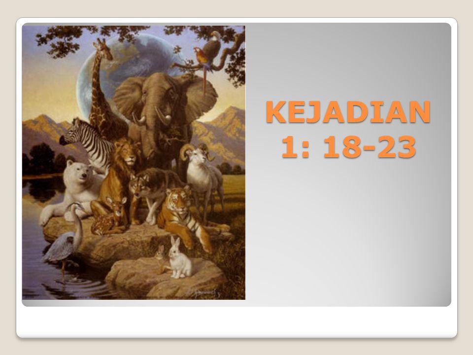 KEJADIAN 1: 18-23